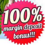 100% Margin Deposit Bonus for your every deposit – JustForex